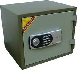 Сейф огнеупорный 119ЕК Электронный код + ключ