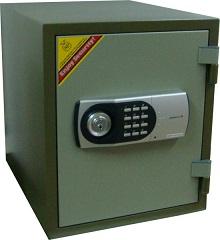 Сейф огнеупорный 125ЕК Электронный код + ключ