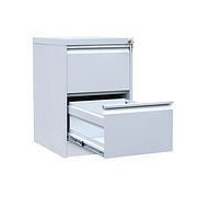 Шкаф картотека (файл-кабинет) металлический 2-секционный