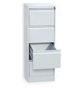 Файл-кабинет (картотека) металлический 4-секционный