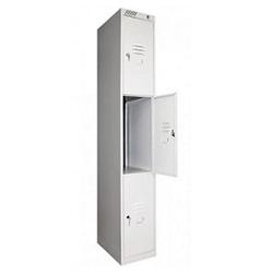 Локер металлический 3-секционный (шкаф для одежды)