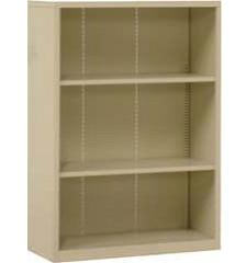 Шкаф для книг и папок открытый SB-3042 серый