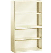 Шкаф архивный открытый O-9155 серый